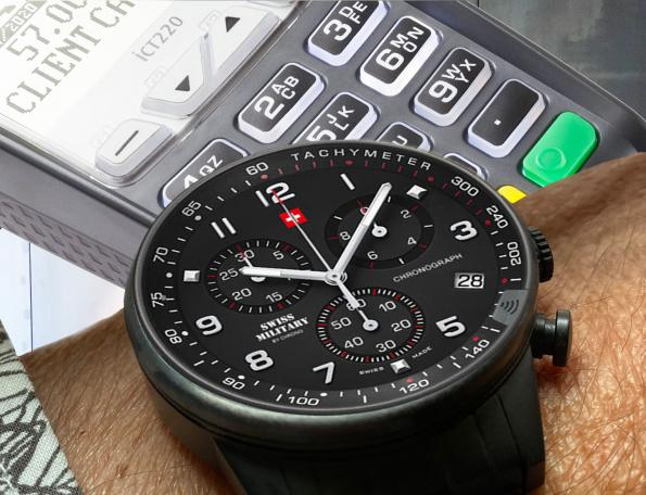 Infineon enables traditional watches for contactless payment