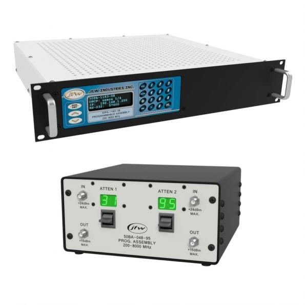 JFW step attenuator assembly models to automate Wi-Fi 6E testing