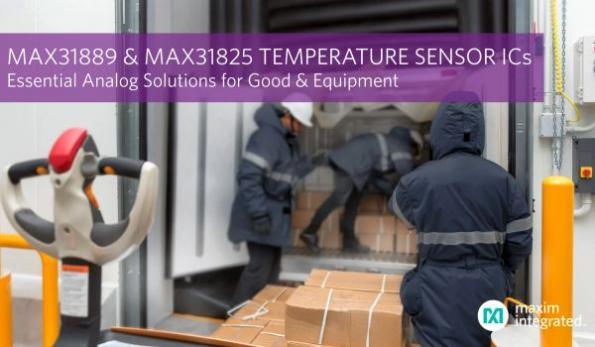 Analog temp sensor ICs protect goods, equipment