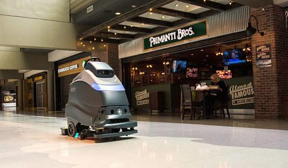 Robotics spin-off for autonomous cleaning in public spaces