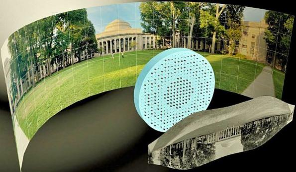 Flat fisheye metalens produces 180-degree panoramic images
