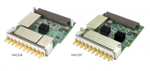 Wideband FMC modules operate up to 6GHz