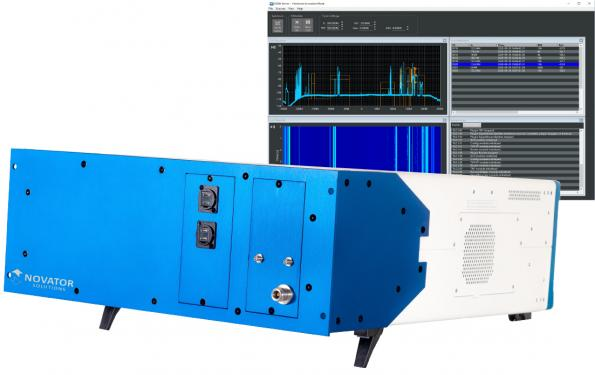 ODEN 3001 intelligent RF spectrum recorder plus GUI