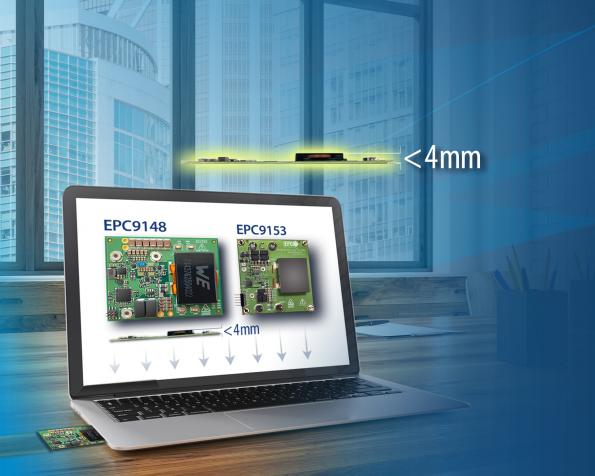 EPC, Microchip team on thin 48V GaN DC-DC converter designs