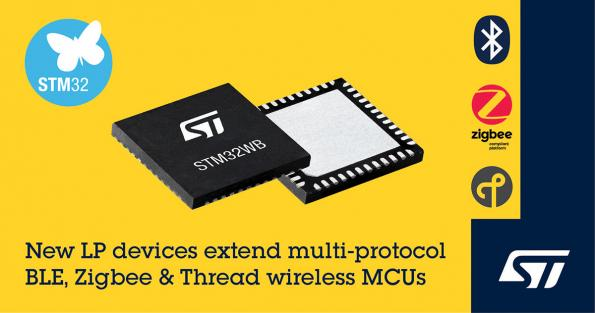 STM32WB35 and STM32WB30 Value Line MCUs from STMicroelectronics