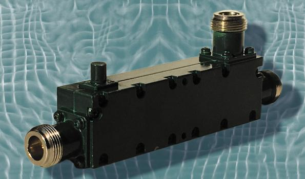 Model 252-090-020 50-Ohm directional couplers cover the 2–4 GHz frequency range