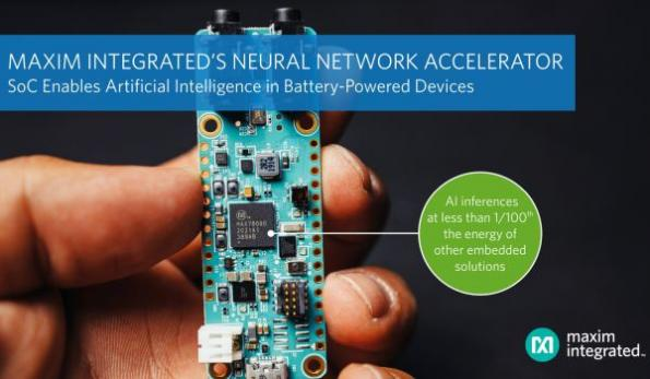 Neural network accelerator chip moves AI to the edge