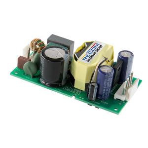 Compact open frame 40W AC-DC converter for industrial and medical designs