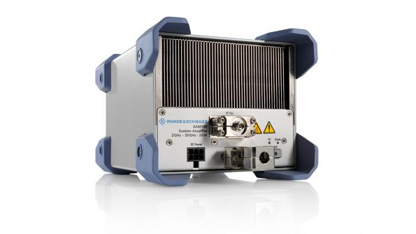 Rohde & Schwarz SAM100 is an ultra-broadband amplifier for a variety of test setups and system configurations in the 2 to 20 GHz range