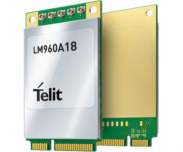 Telit LTE mPCIe data card completes NTT DOCOMO testing