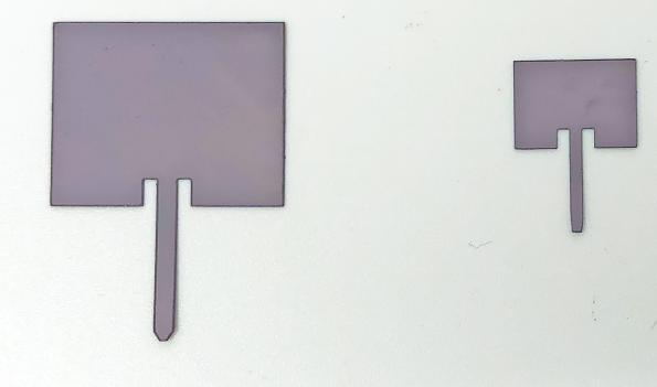 The team of Drexel researchers have fabricated and tested a series of ultrathin, flexible spray-applied MXene antennas