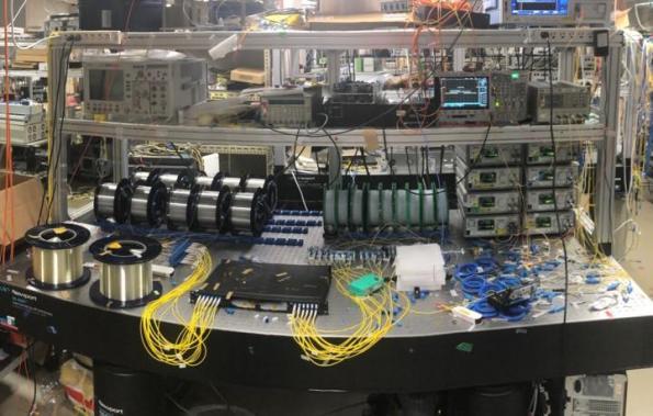 World record sees petabit optical fibre