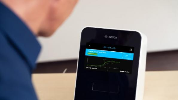 Bosch pushes PCR Covid-19 test time under 30 minutes