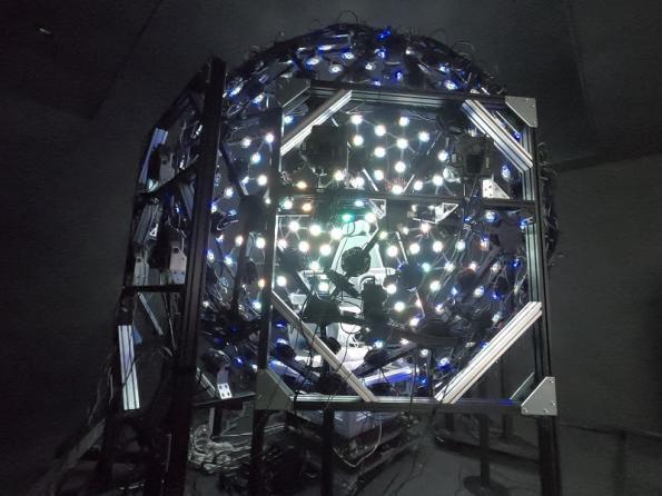 Virtual lab for high precision body measurements