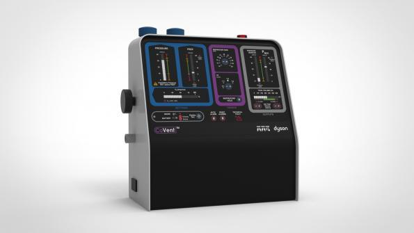 The Dyson CoVent ventilator