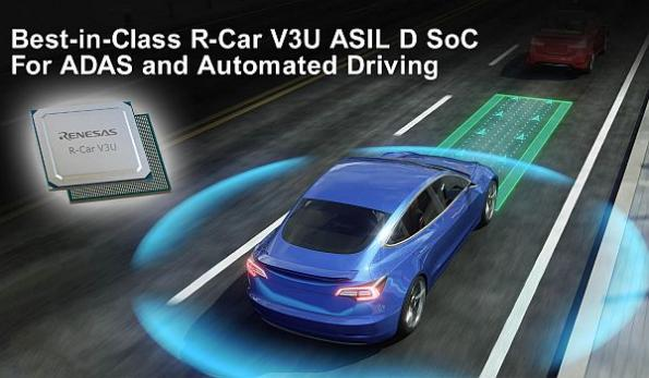 ASIL-D SoC speeds ADAS, automated driving development