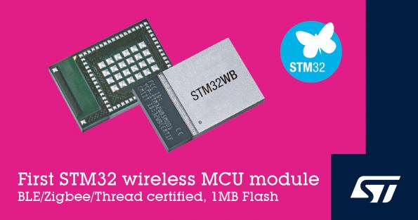 Wireless microcontroller module boosts IoT design productivity