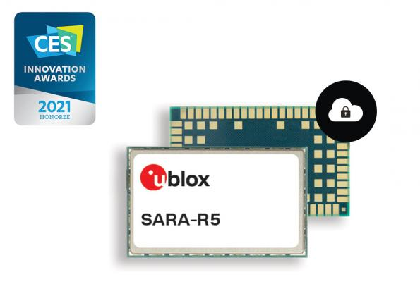 SARA-R5 LTE-M modules with IoT Security-as-a-Service