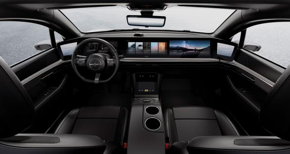 European tech for Sony's Vision-S electric car - video