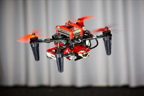 Event driven sensor boosts drone safety