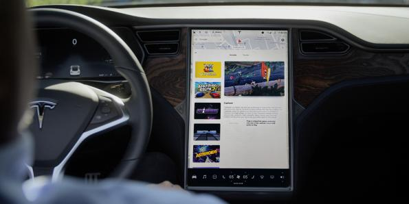 A flash memory failure in the Tesla display is driving a recall