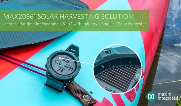 Solar harvester targets space-constrained devices