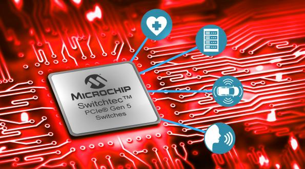First commercial PCIe Gen5.0 data centre switch chip