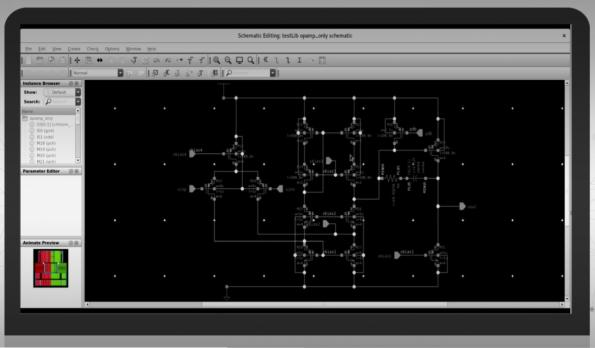 Real time accurate layout previews for analog circuits