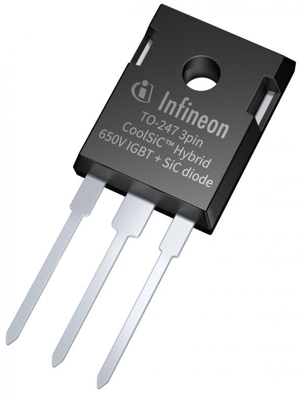 650 V CoolSiC™ Hybrid IGBT offer superior efficiency