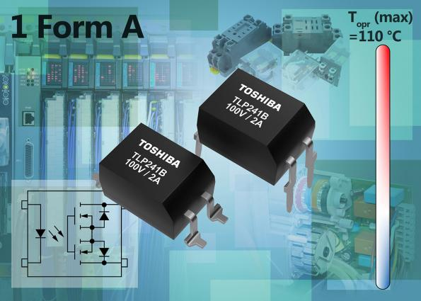 High-current photorelay suits industrial applications
