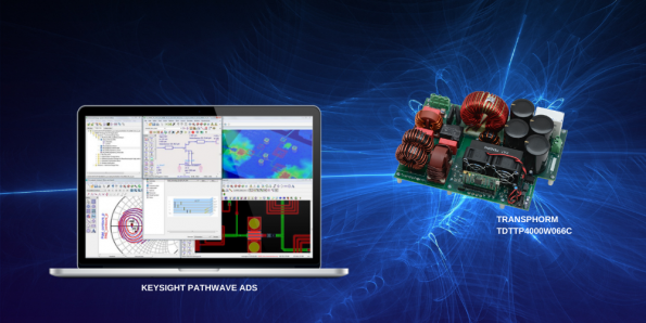 Keysight, Transphorm team on GaN power supply virtual prototype