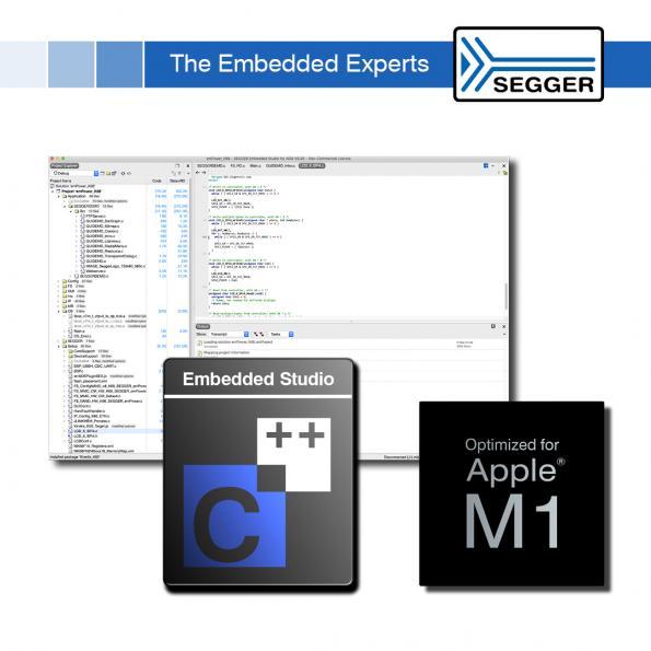 Embedded Studio IDE optimised for Apple M1 SoC