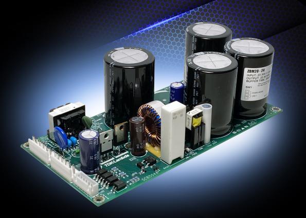 380ms hold up for 12V, 15V or 24V AC-DC converters