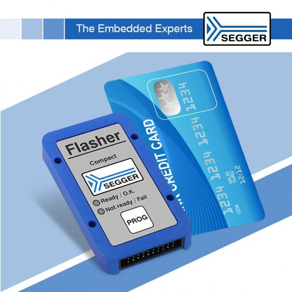 Credit-card-size universal flash programmer