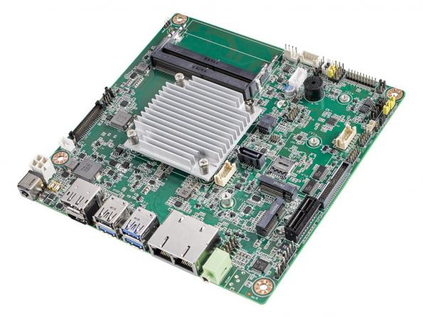 Mini-ITX motherboard boosts performance with Intel Atom® x6000E