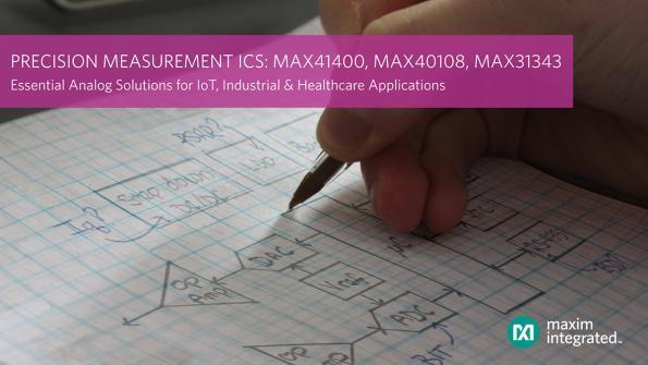 Precision measurement ICs double battery life