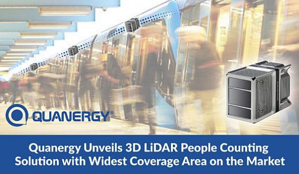 3D LiDAR people counting solution has wide coverage area