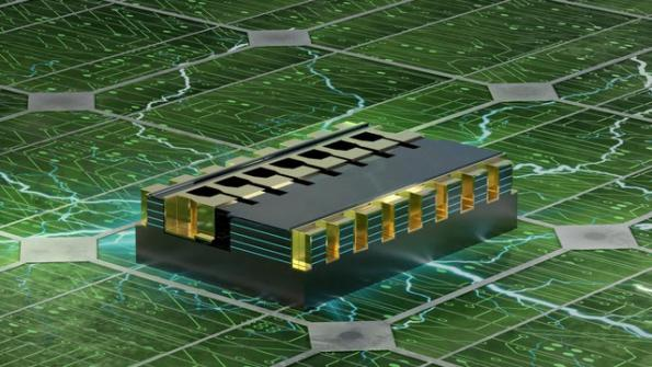 Researchers at EPFL used multichannel GaN nanowires for a power nanotransistor architecture that operates up with 1300V