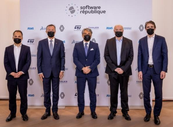 French five in e-mobility softwareand data alliance