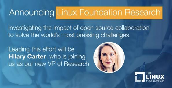 The Linux Foundation launches research division