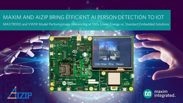 Maxim, Aizip to provide low-power IoT person detection