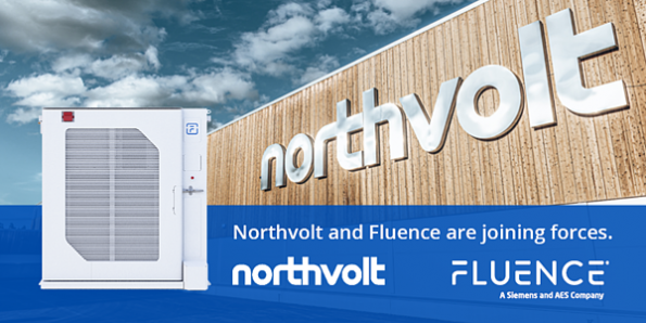 Fluence and Northvolt to co-develop battery technology for Grid-scale energy storage