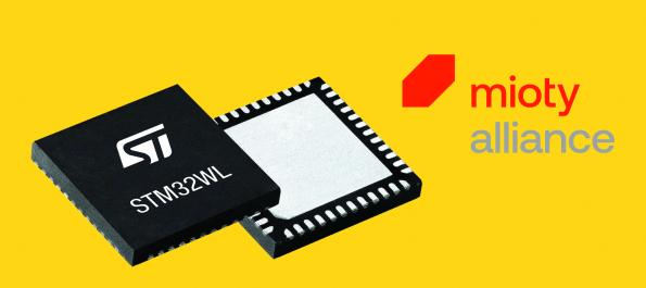 ST Micro ajoute l'IoT mioty à ses SOC radio
