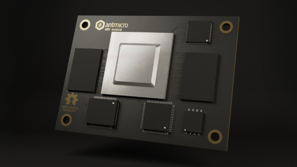 Scaleable RISC-V module boosts distributed AI processing