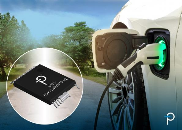 Flyback switcher ICs support electric vehicle designs
