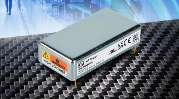 Regulated 6kV DC-DC converter for semiconductor and detector power