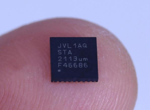 Wireless chip for sensors consumes 100x less than Bluetooth