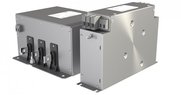 EMC filter for regenerative applications
