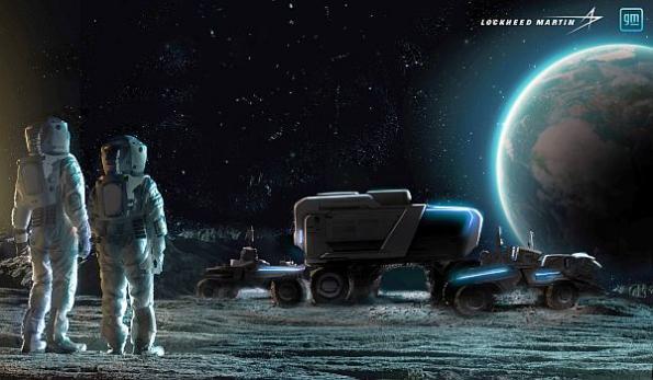 Lockheed, GM team on next-gen lunar rover