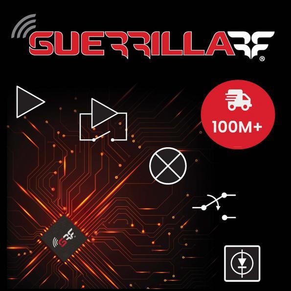Guerrilla RF passes 100 million RFIC/MMIC deployments